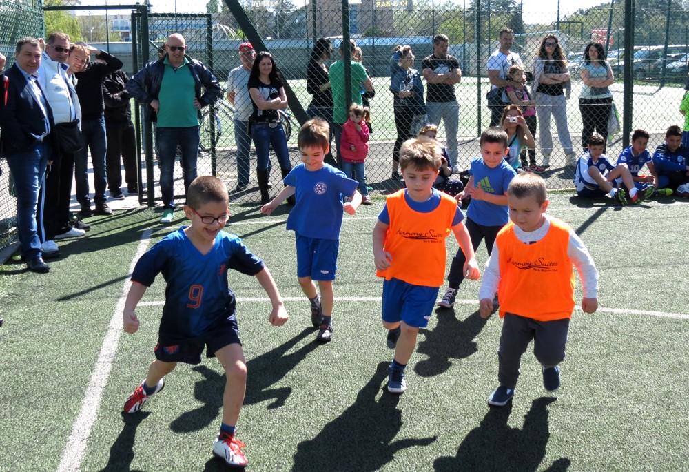 Турнир по футбол за детските градини се проведе за втори път в Несебър