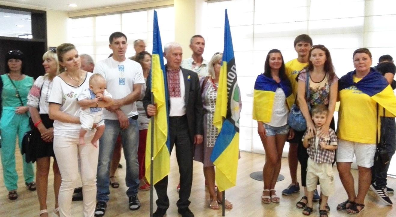 Бургас отбеляза 25 години независимост на Украйна