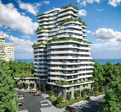 """Нова сграда в бургаския  комплекс """"Лазур""""  може да стане емблема на зелено строителство в България, считат еколози"""