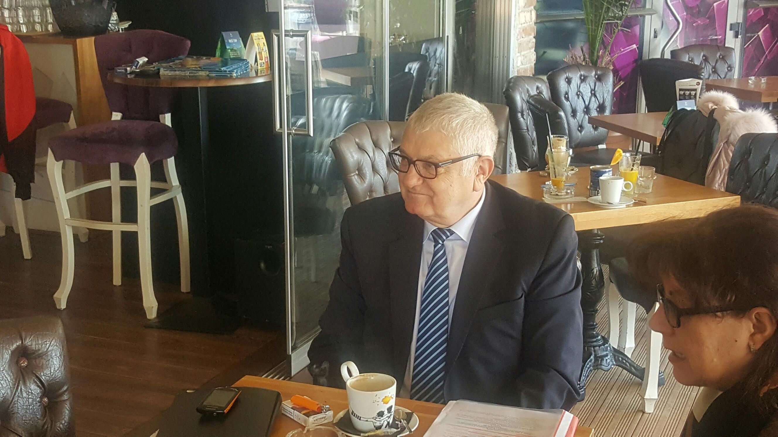 Водачът на БСП в Бургас Петър Кънев се срещна с бизнеса в Поморие