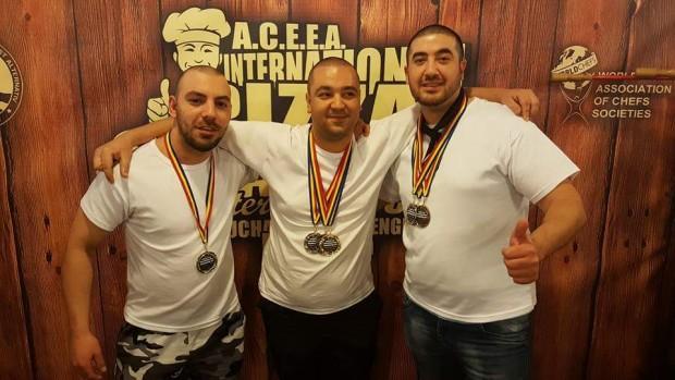 Бургазлия обра медалите на Международен пица шампионат