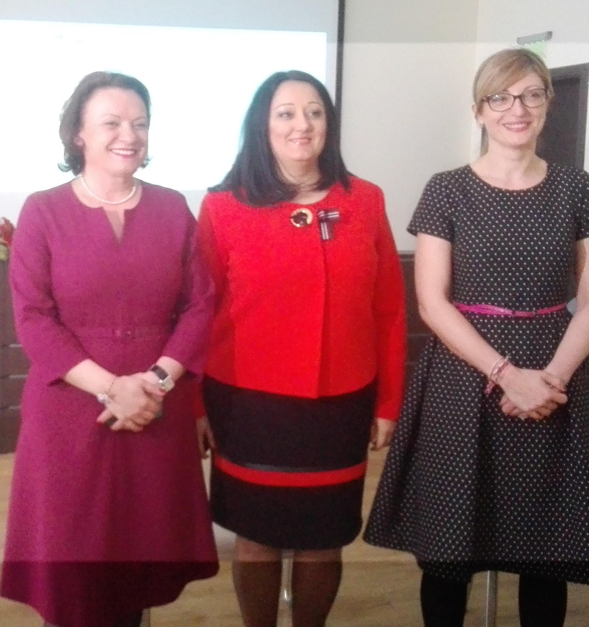 Три смели жени – министри гостуват в Бургас в навечерието на 8 март