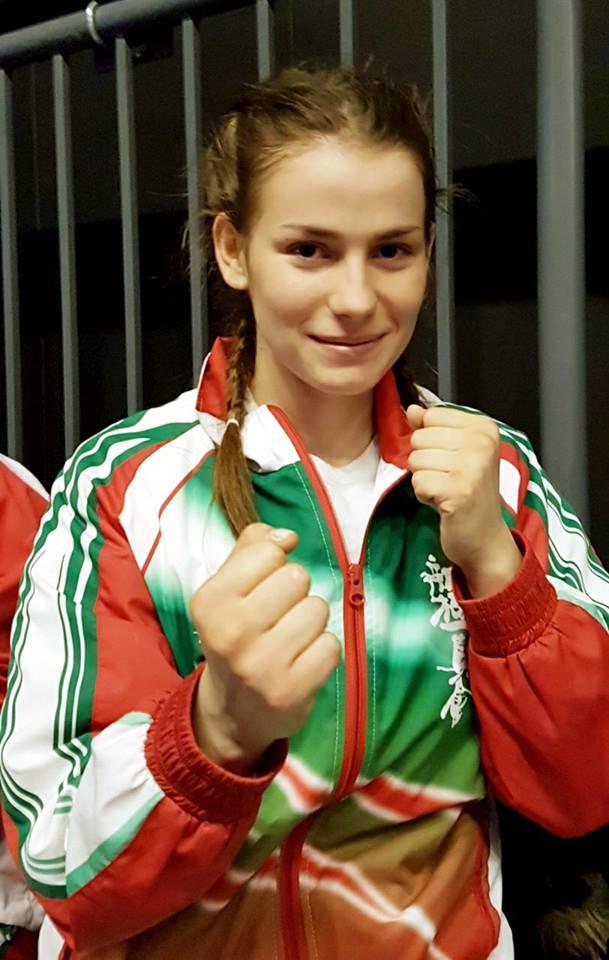 Гордост за Приморско: Каратистката Сияна Стратиева завоюва бронзов медал на европейско първенство