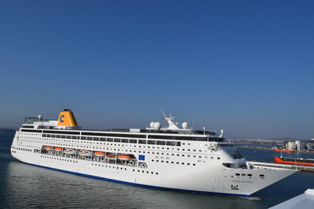 Kруизният сезон на Морска гара – Бургас бе открит с 216-метров кораб