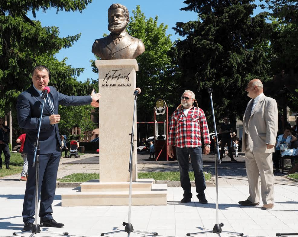 В Несебър бе открит паметник на Христо Ботев