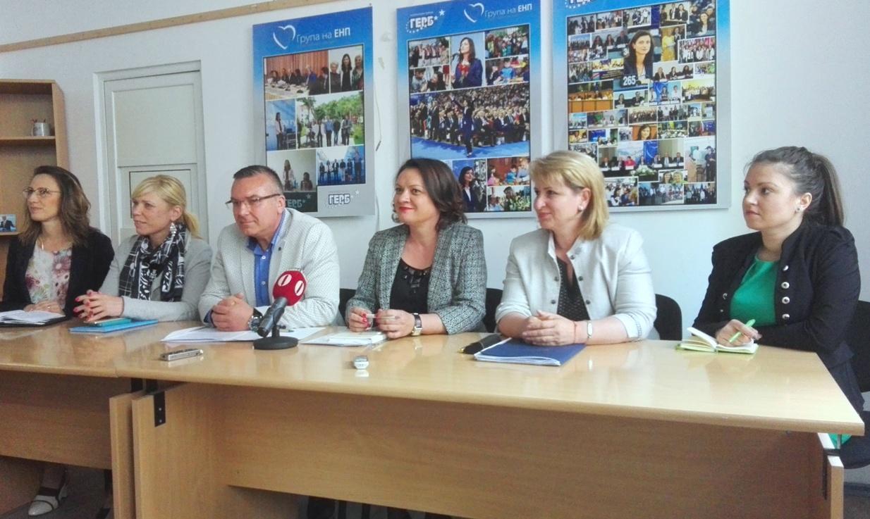Бургаските депутати от ГЕРБ обявиха приоритетите в работата си по ресори
