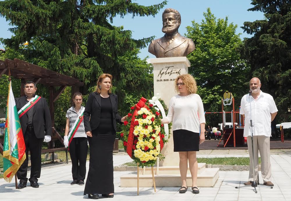 Несебър почете  паметта на Ботев и загиналите за родината герои