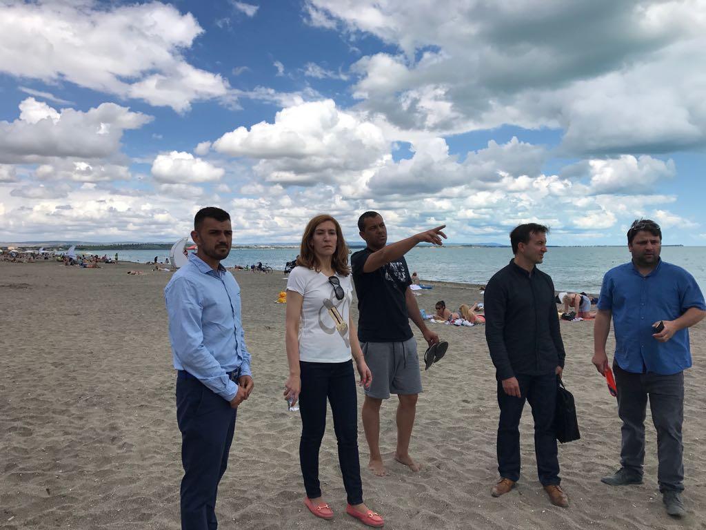 Министърът на туризма инспектира бургаските плажове