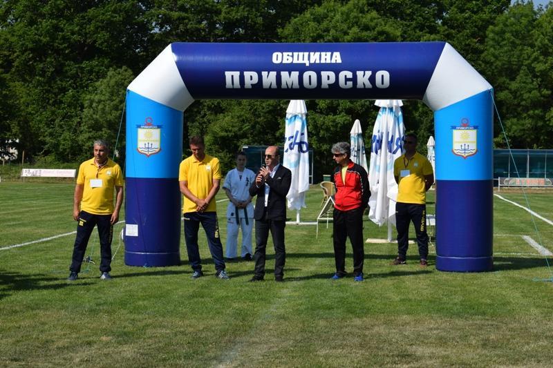 """Започна футболният турнир """"Приморско лято 2017"""""""