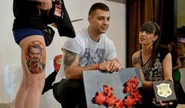 Татуистът от Бургас- Наката, с три златни медала от фестивала в Дортмунд