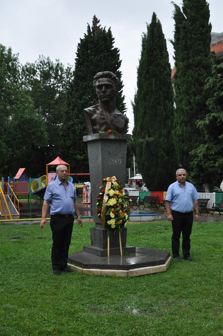 Несебър отбеляза 180 години от рождението на Васил Левски