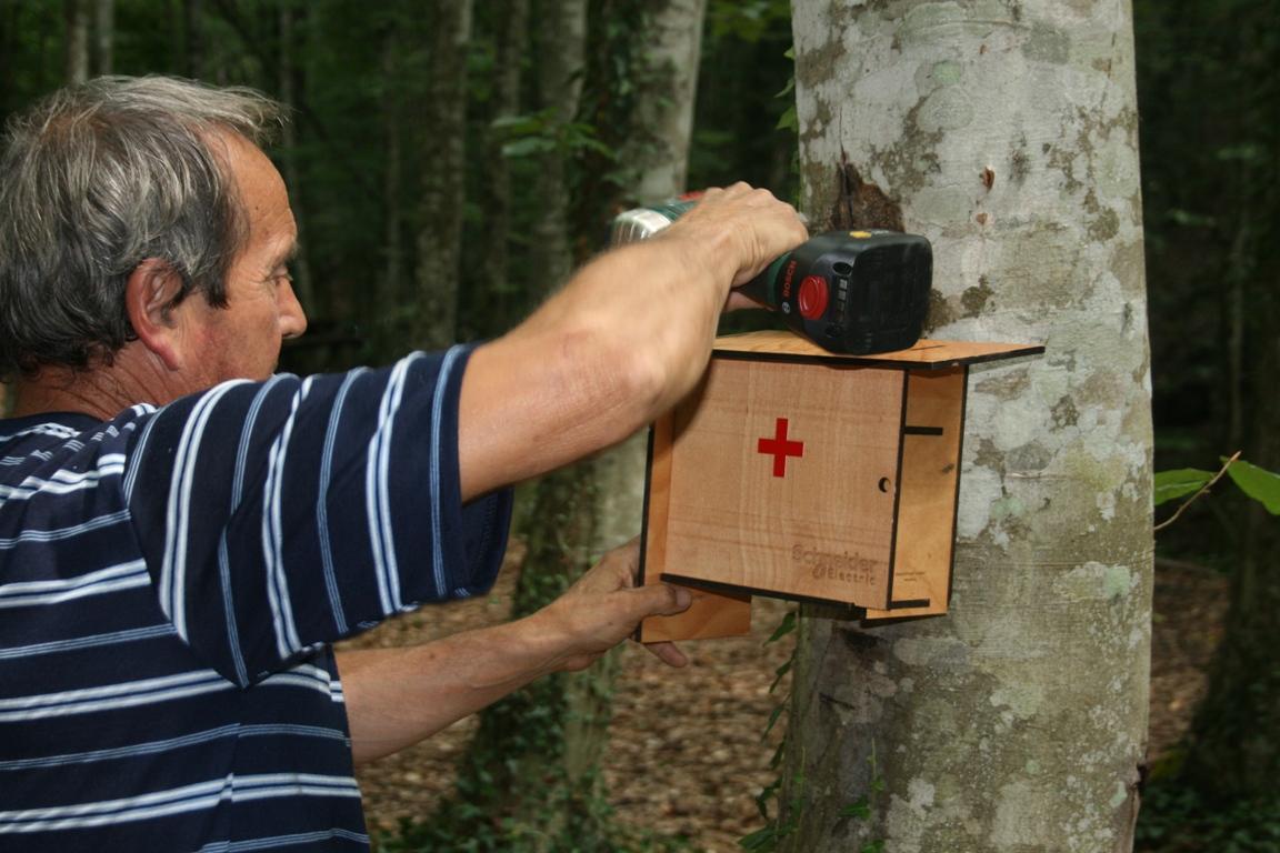 """Аптечки за първа помощ поставиха край светилища в ПП """"Странджа"""""""