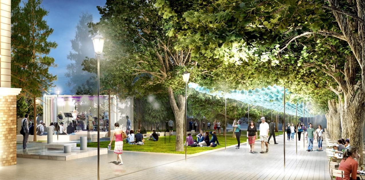 Обзор става още по-привлекателен с проект за облагородяване на централната градска среда