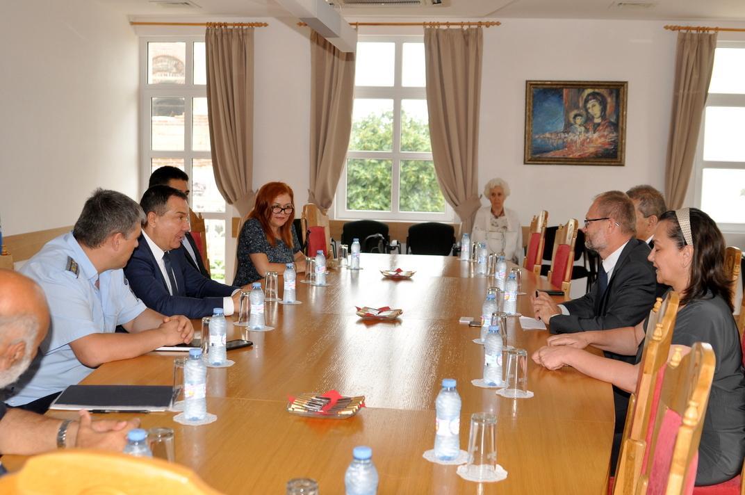 Кметът на Несебър и датският посланик обсъдиха въпроси, свързани с туризма и сътрудничеството между двете страни