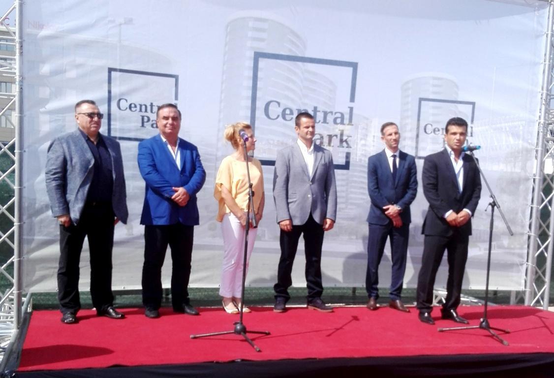 Стартира строителството на Central park в Бургас