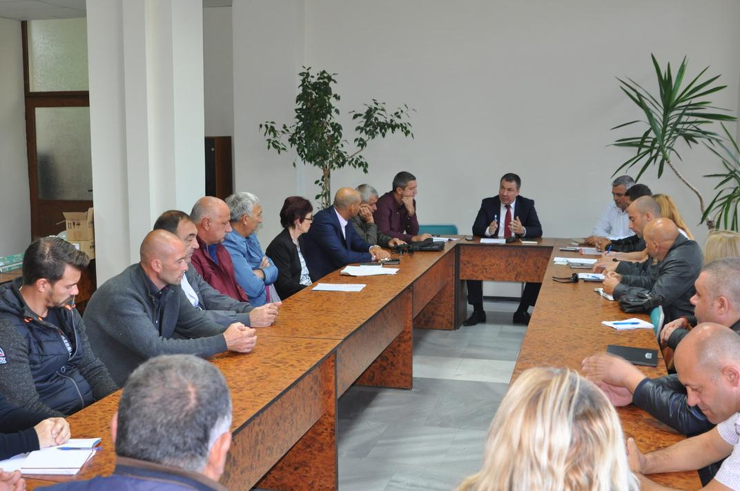Община Несебър е готова за работа през есенно-зимния период