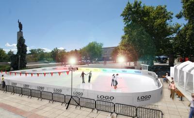 Ледената пързалка в Бургас работи от днес