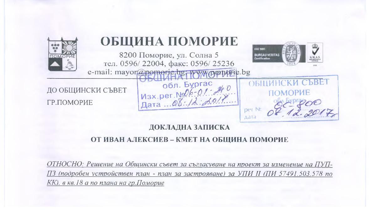 Кметът на Поморие бърза да се построи хотел под паметника на Яворов