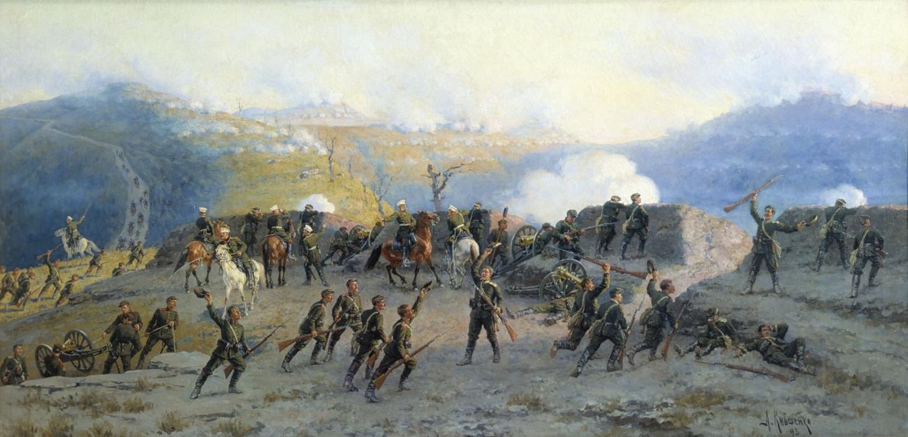 Руско-турската освободителна война  в картини на руски художници ще видим в градската галерия