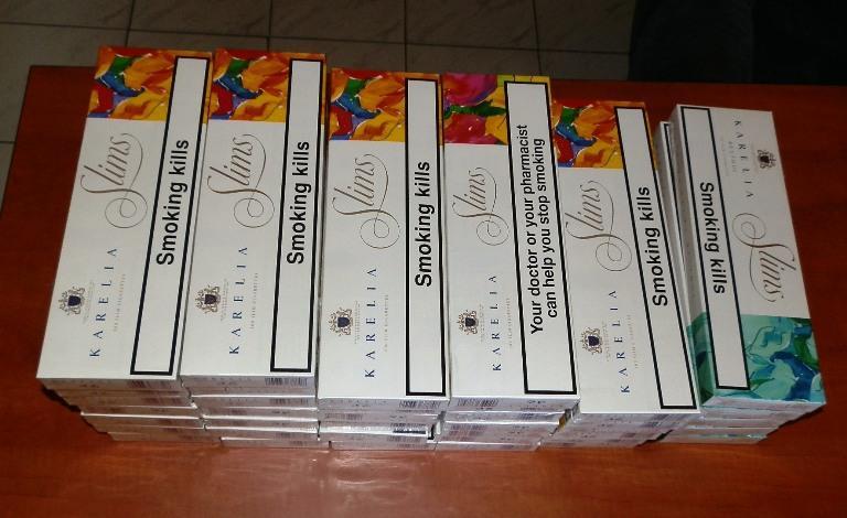 Откриха голямо количество контрабандни цигари на пункт Лесово