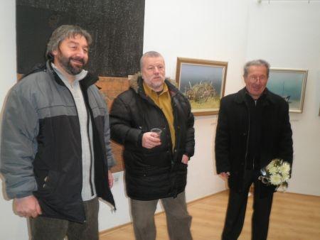 За 20-ти път тримата Йордановци излизат с обща изложба на 6 януари в Бургас