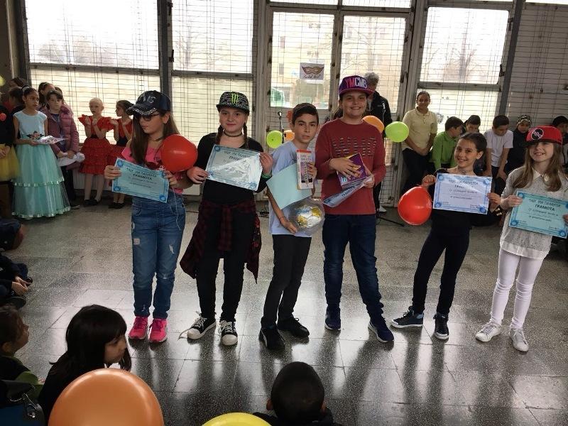Ден на таланта в училището в Приморско