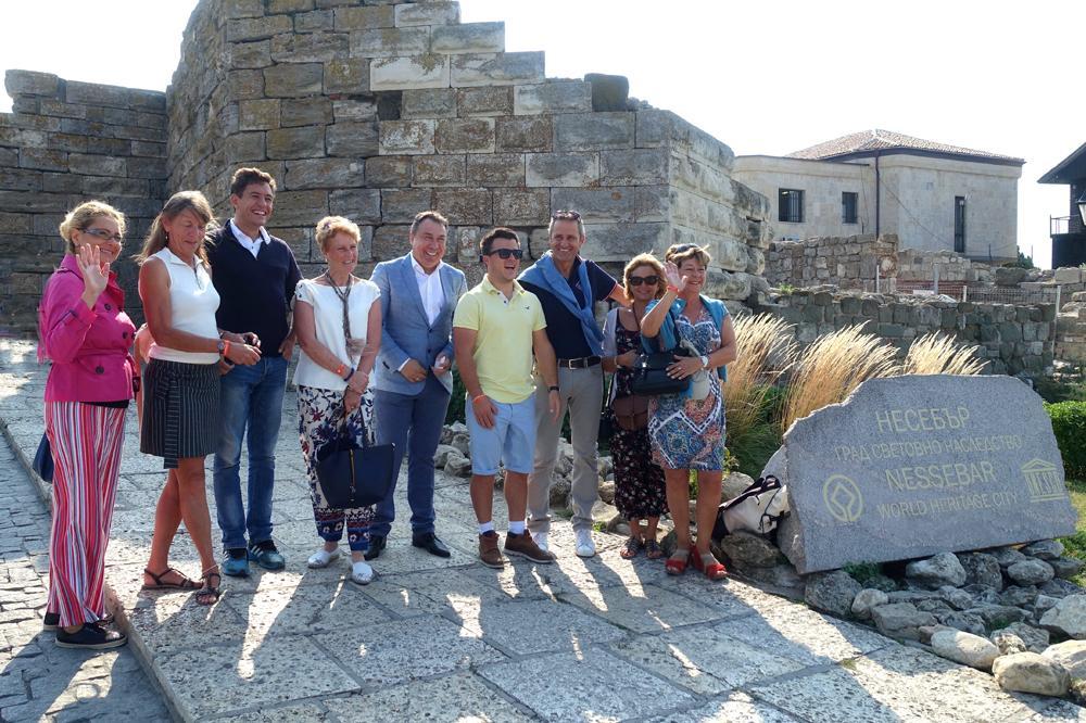 Несебър посреща гости от Алпите