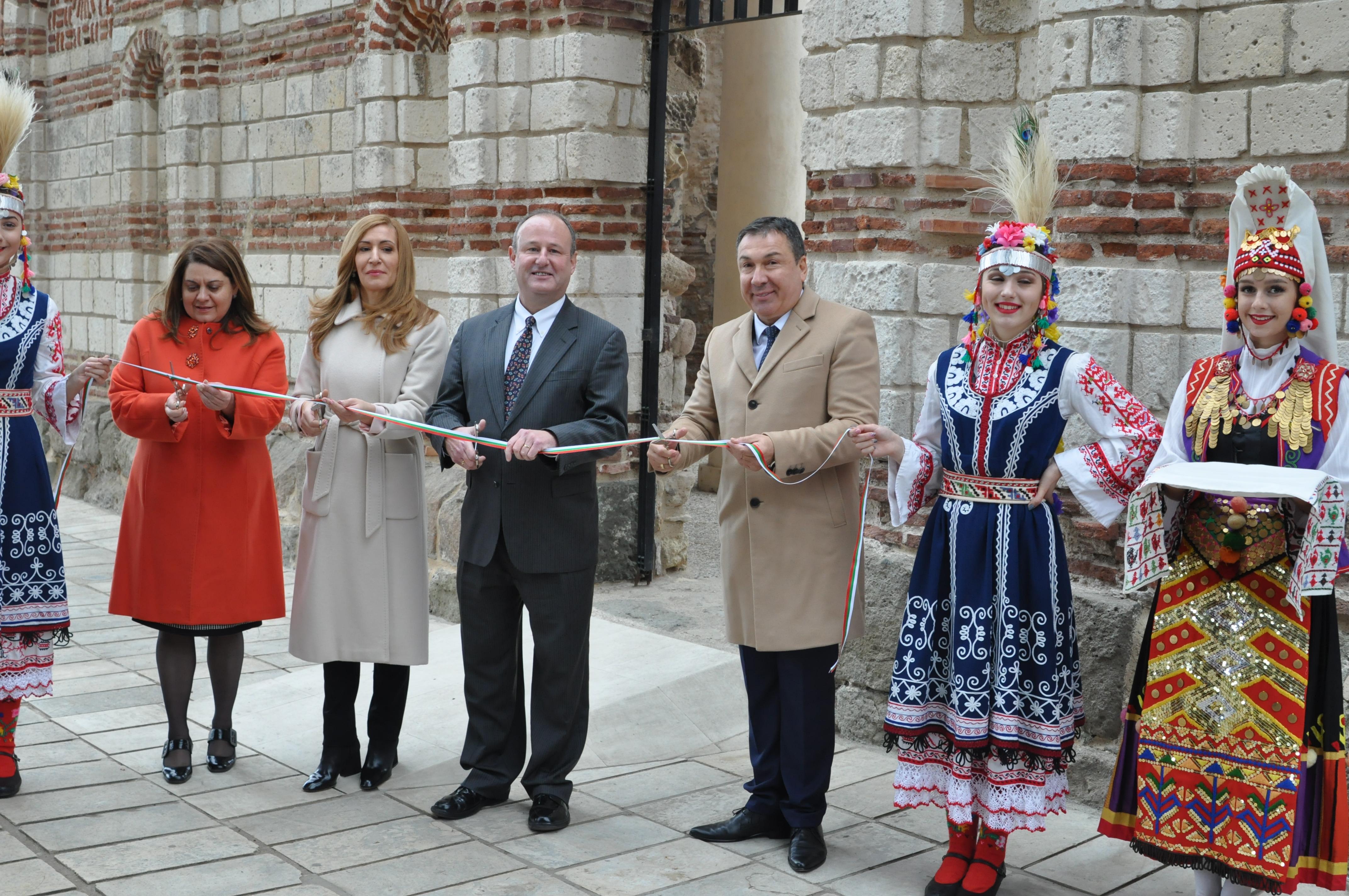 """Приключи реставрацията средновековния храм """"Йоан Алитургетос"""" в Несебър"""