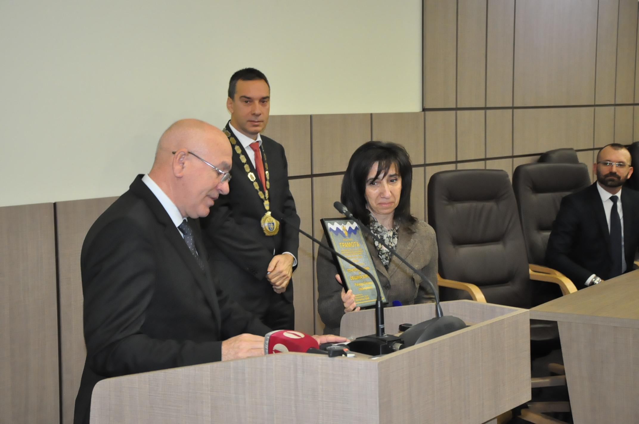 Вижте новите почетни граждани на Бургас