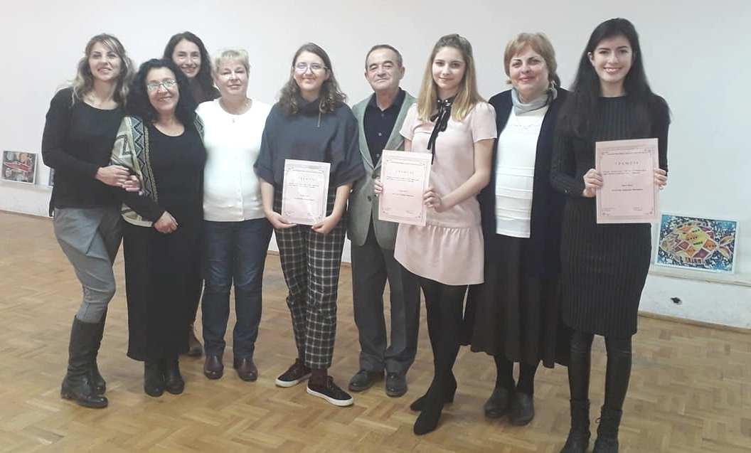 Ученици поднесоха словесни подаръци за празника на Бургас