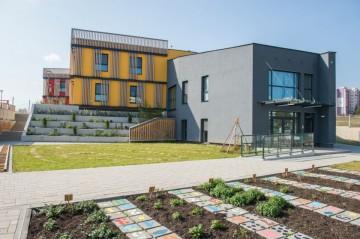 """Детска градина """"Пинокио"""" с отличие за сграда със зелена архитектура"""