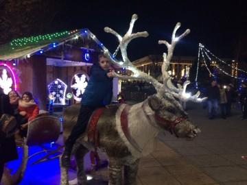 """Дядо Коледа пристига всяка вечер с приказно светлинно шоу на """"Тройката"""""""