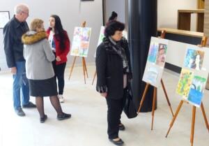 Изложба на надарени деца в Несебър