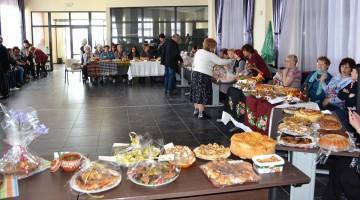 Кулинарно изложение на тракийски гозби в Морското казино