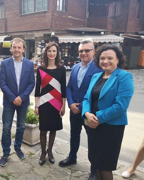 Мария Габриел и Ивелина Василева в Несебър: Гласът на България трябва да се чува още по-силно в Европа