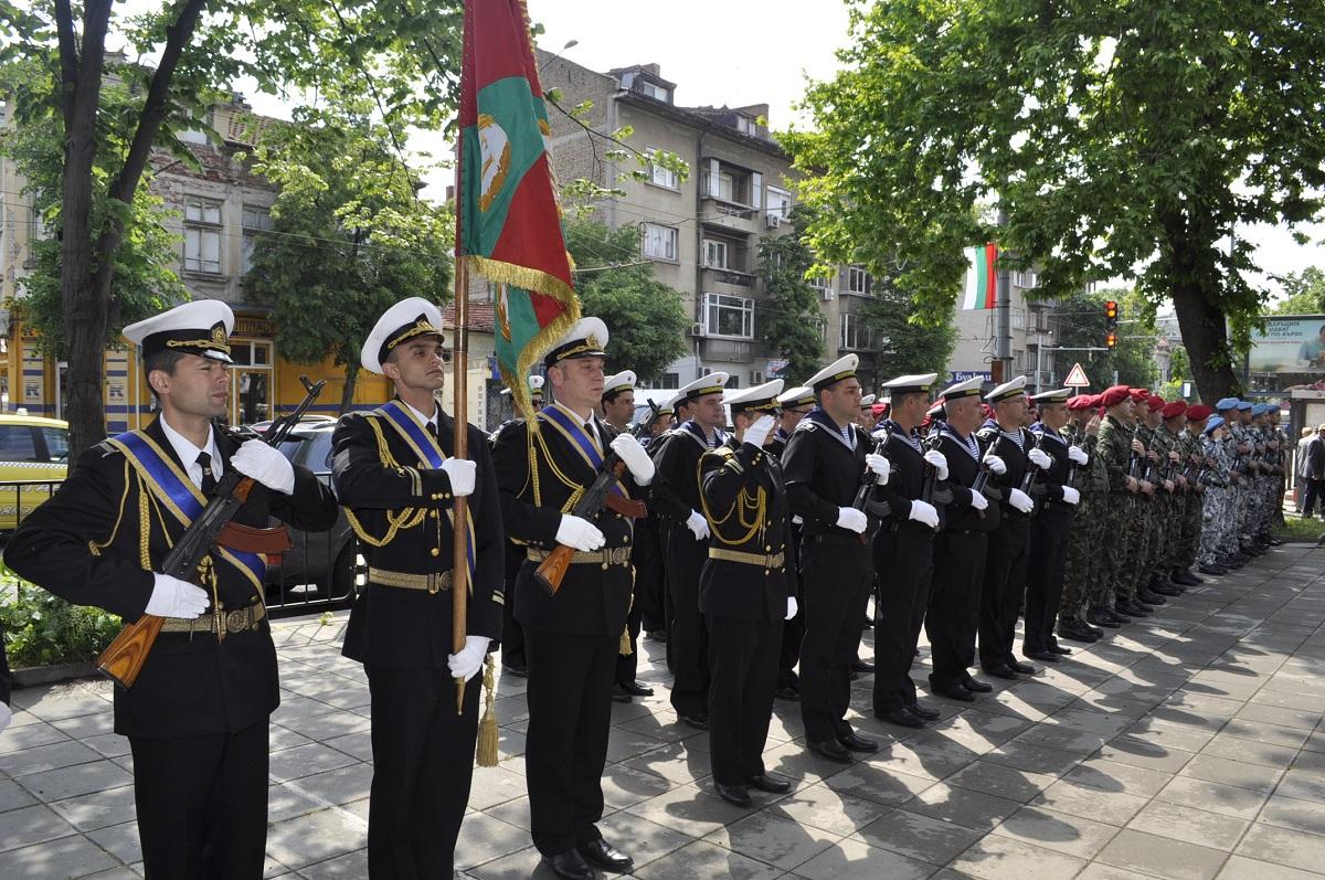 Бургас отбелязва 130 години от създаването на 24-ти пехотен Черноморски полк