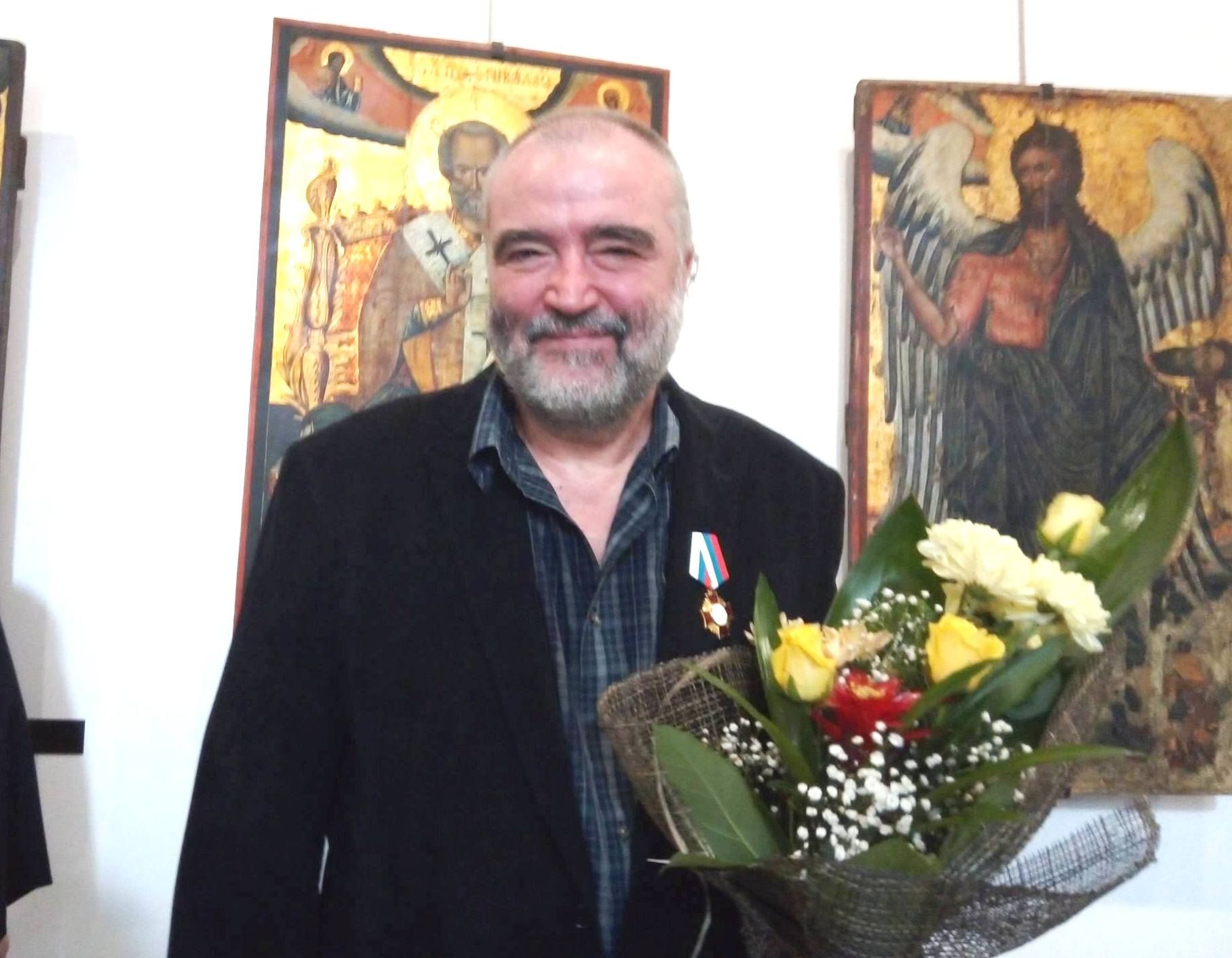 Световно признание за художника-реставратор Климент Атанасов
