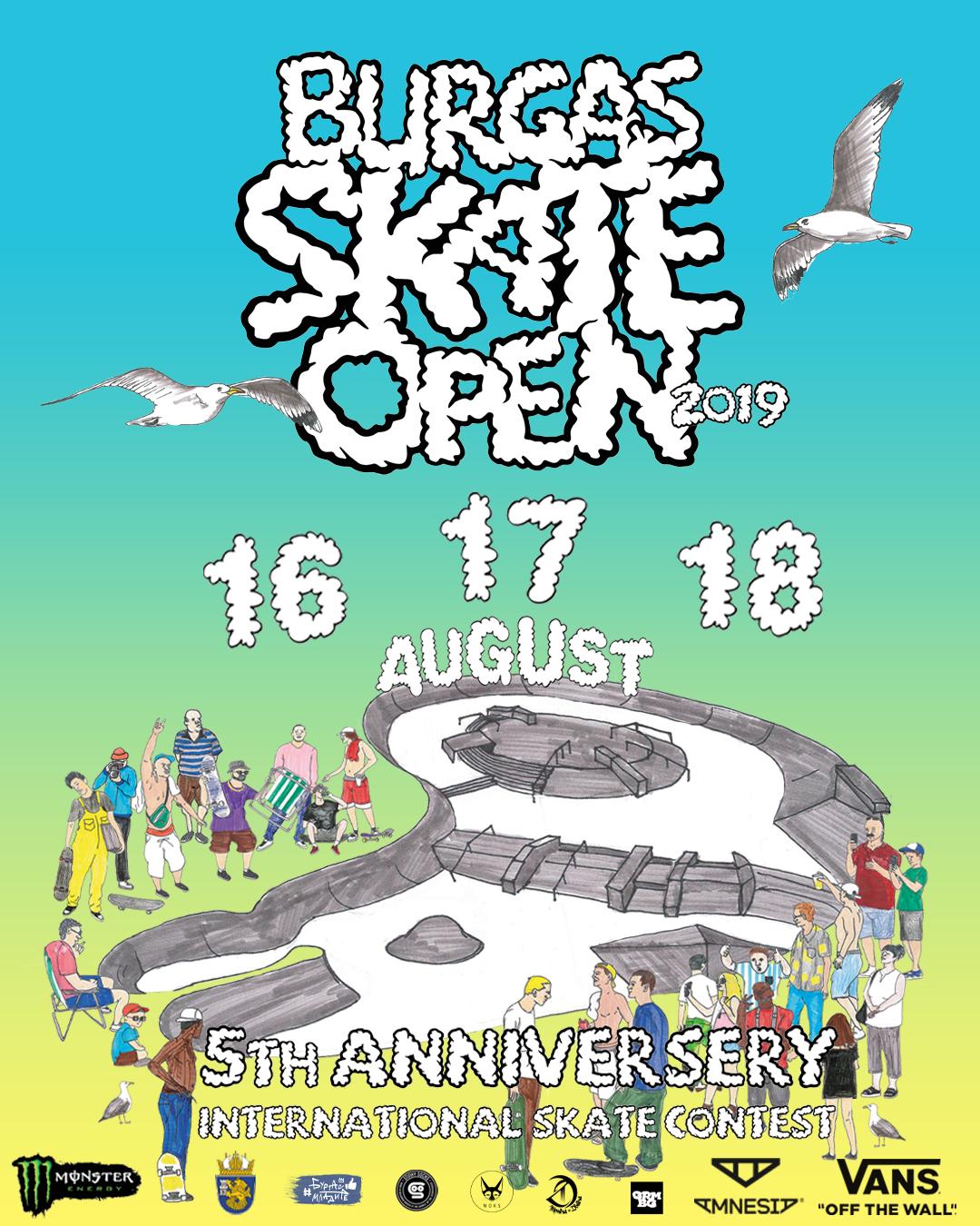 Burgas Skate Open за пети път в морския град