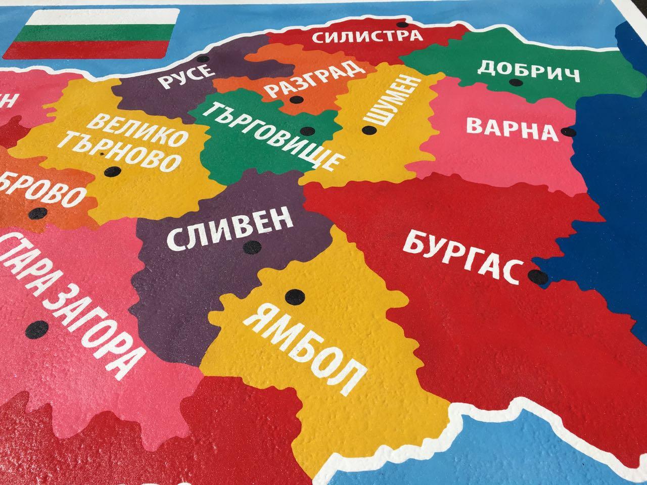 С игри запознават бургаските деца с картата на България, слънчевата система и правилата за движение