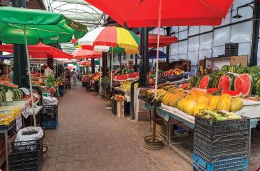 История на бургаските пазари: Развитие на стопанството след 1989 г.