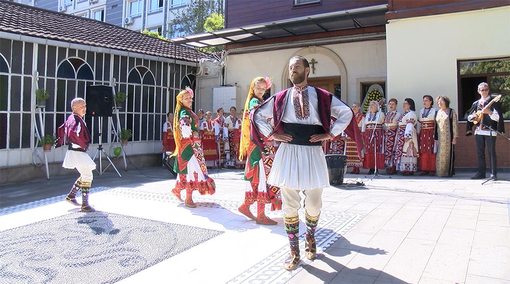 Участие на несебърските самодейци в тържествата на българската екзархия в Истанбул