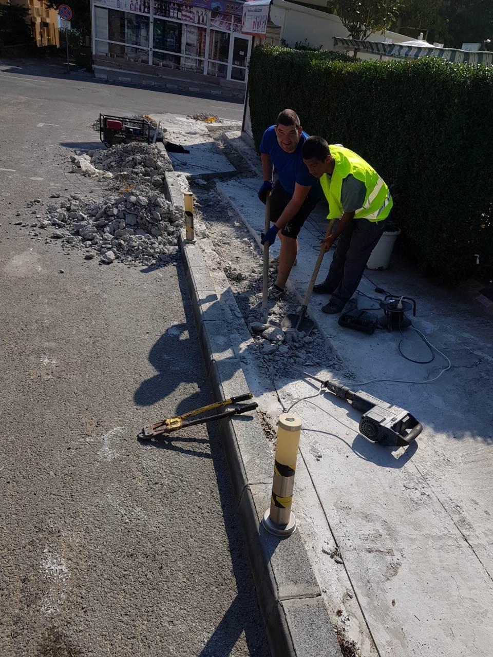 Строителните дейности в Община Несебър продължават