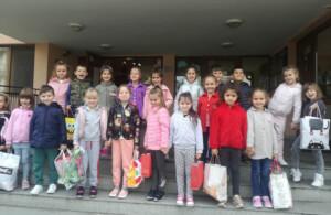 Деца от Несебър посетиха Центъра за обществена подкрепа по случай Световния ден на доброто
