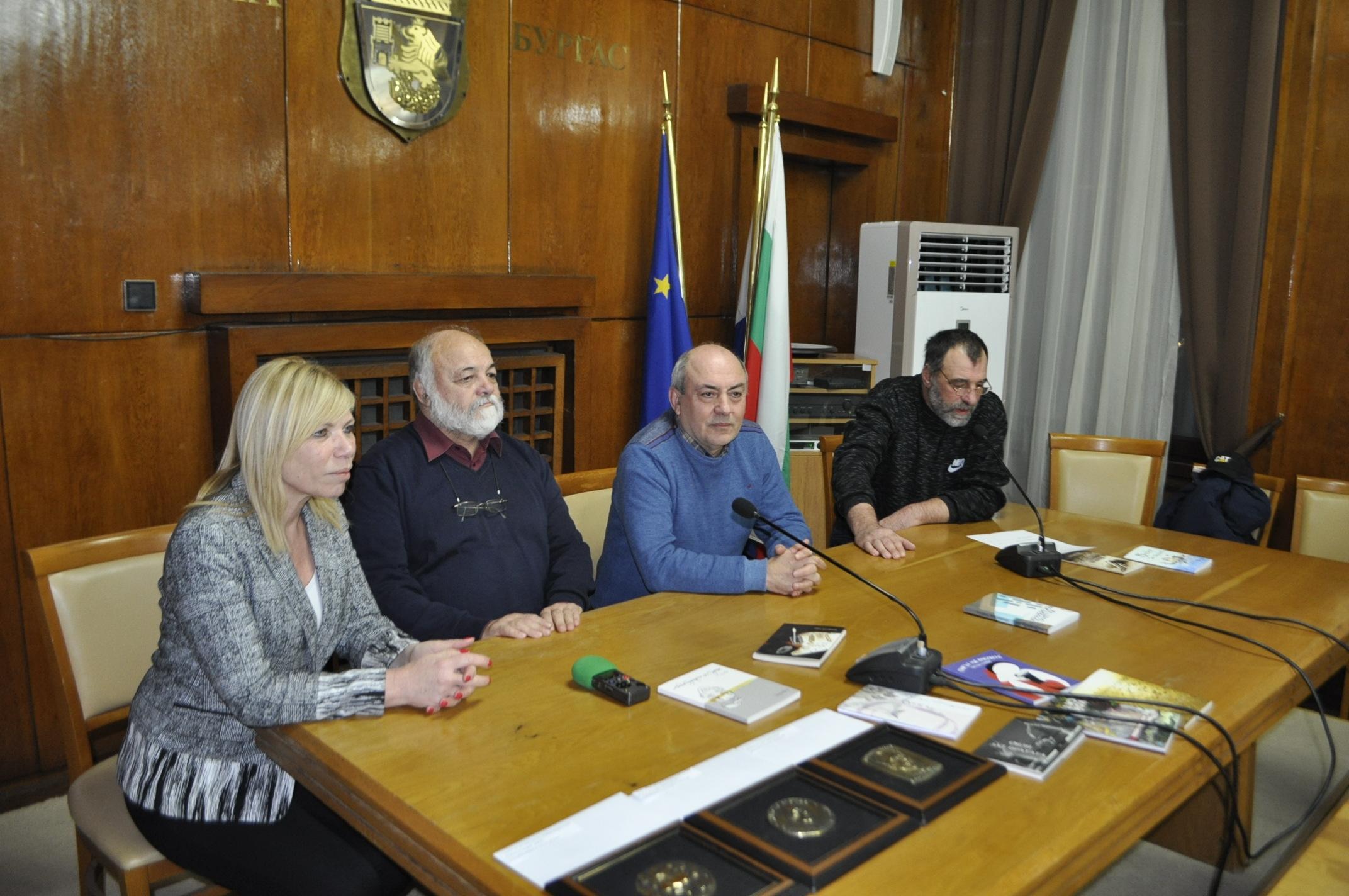 Раздадоха никулденските писателски награди в Бургас
