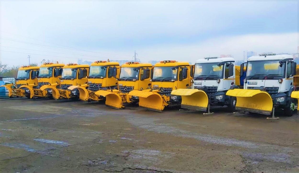 Общината провери готовността на почистващите фирми за зимния сезон