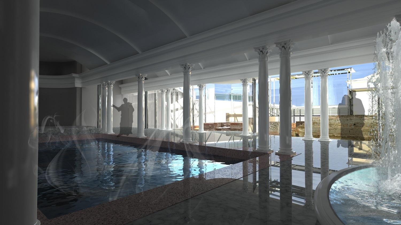"""Копие на римска баня допълва атракциите на """"Акве Калиде"""""""