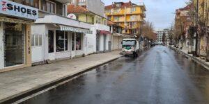 """Улица """"Отец Паисий"""" в Несебър вече е дезинфекцирана"""
