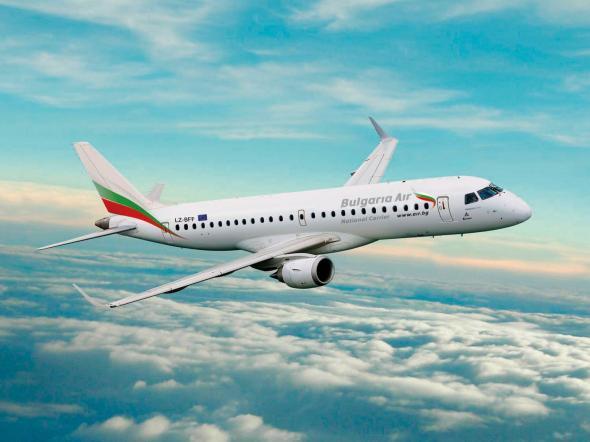 """Обновена: """"България Ер"""" с промени в разписанието на полетите си до средата на април"""