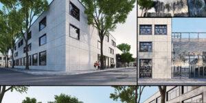 Напредва строежът на новата библиотека в Бургас